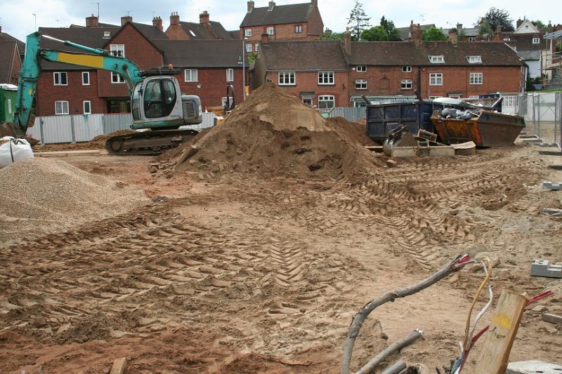 Construction Site Soil : Building site